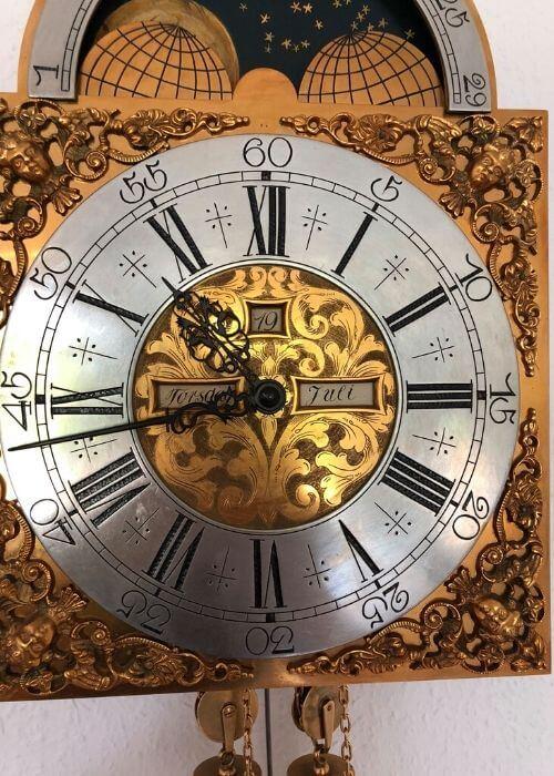 Reparation af antikke ure